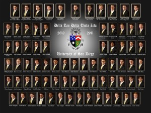 University of San Diego Fraternity