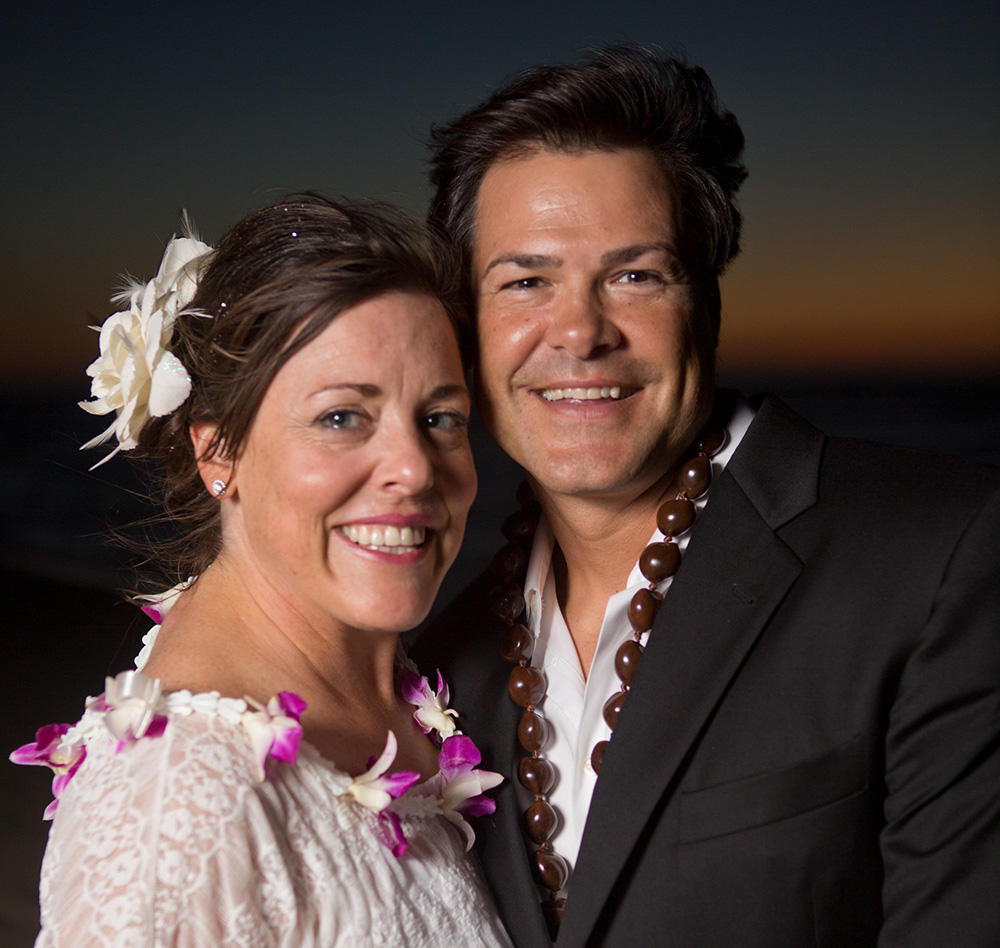 Vow Renewal at kaena point