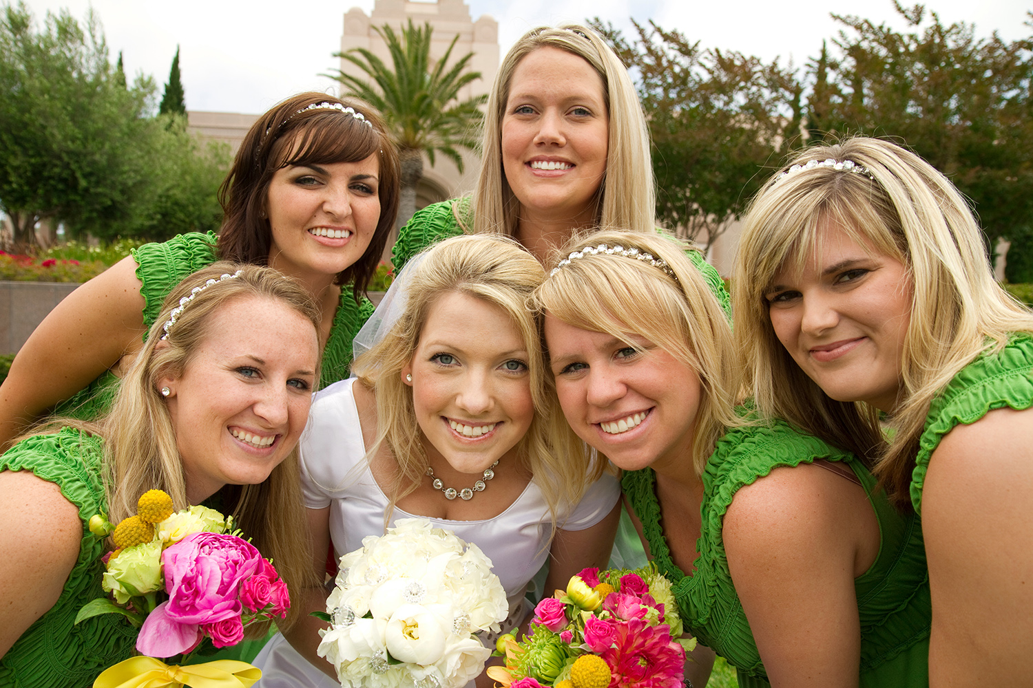 wedding brides maids