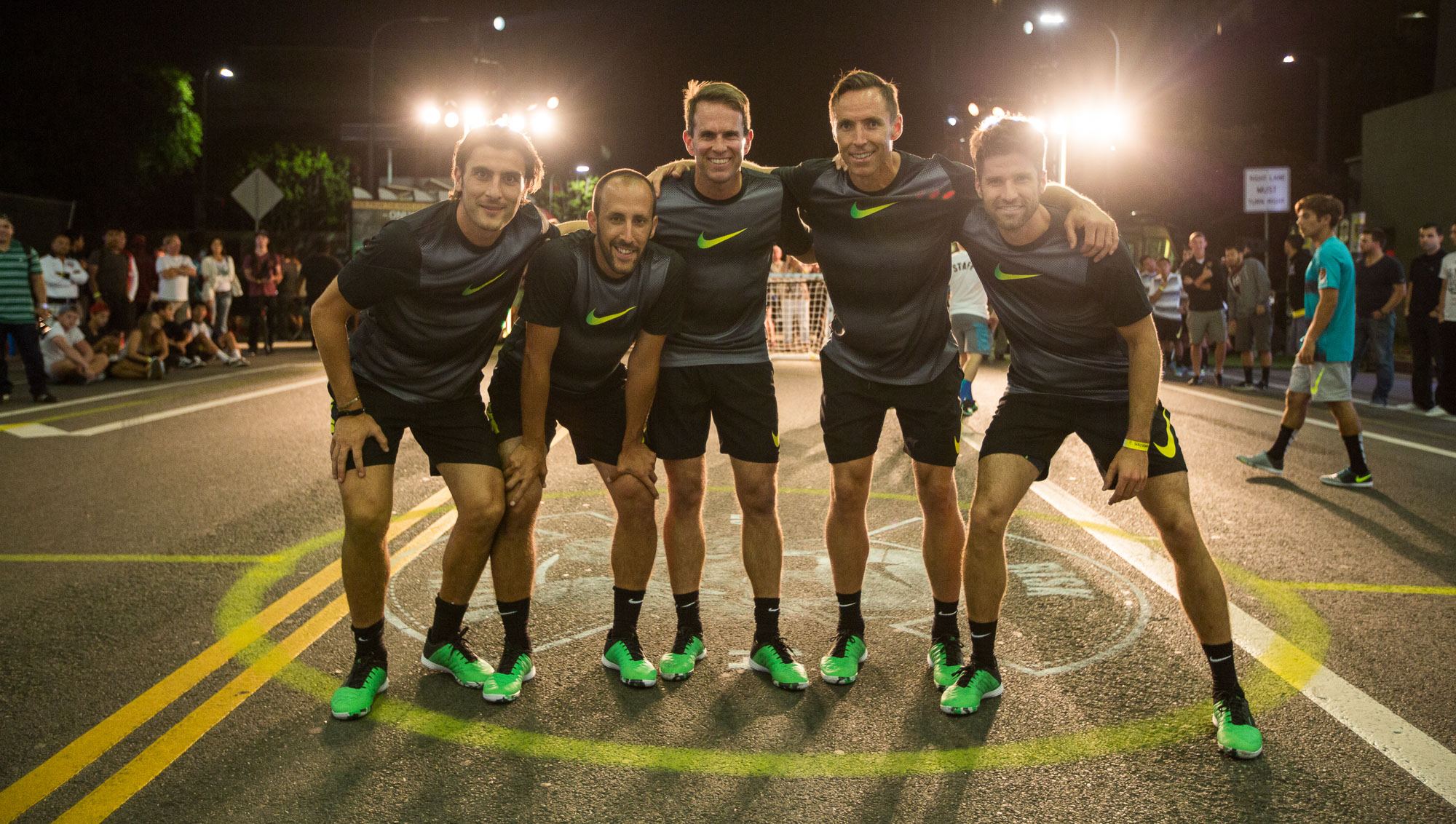 Nike Street Soccer with Steve Nash