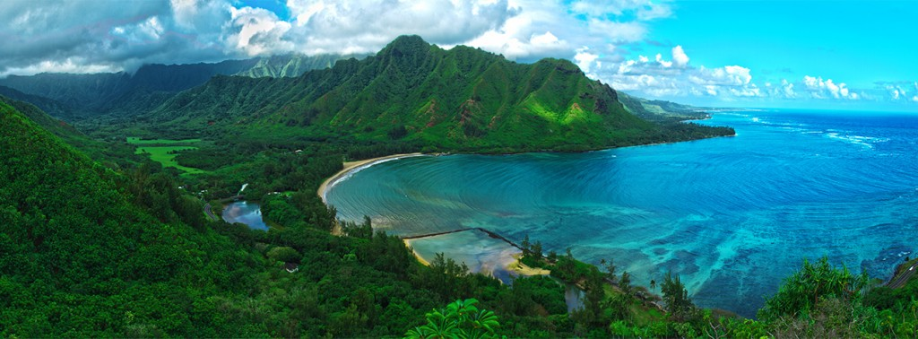 Amazing Hawaiian panorama