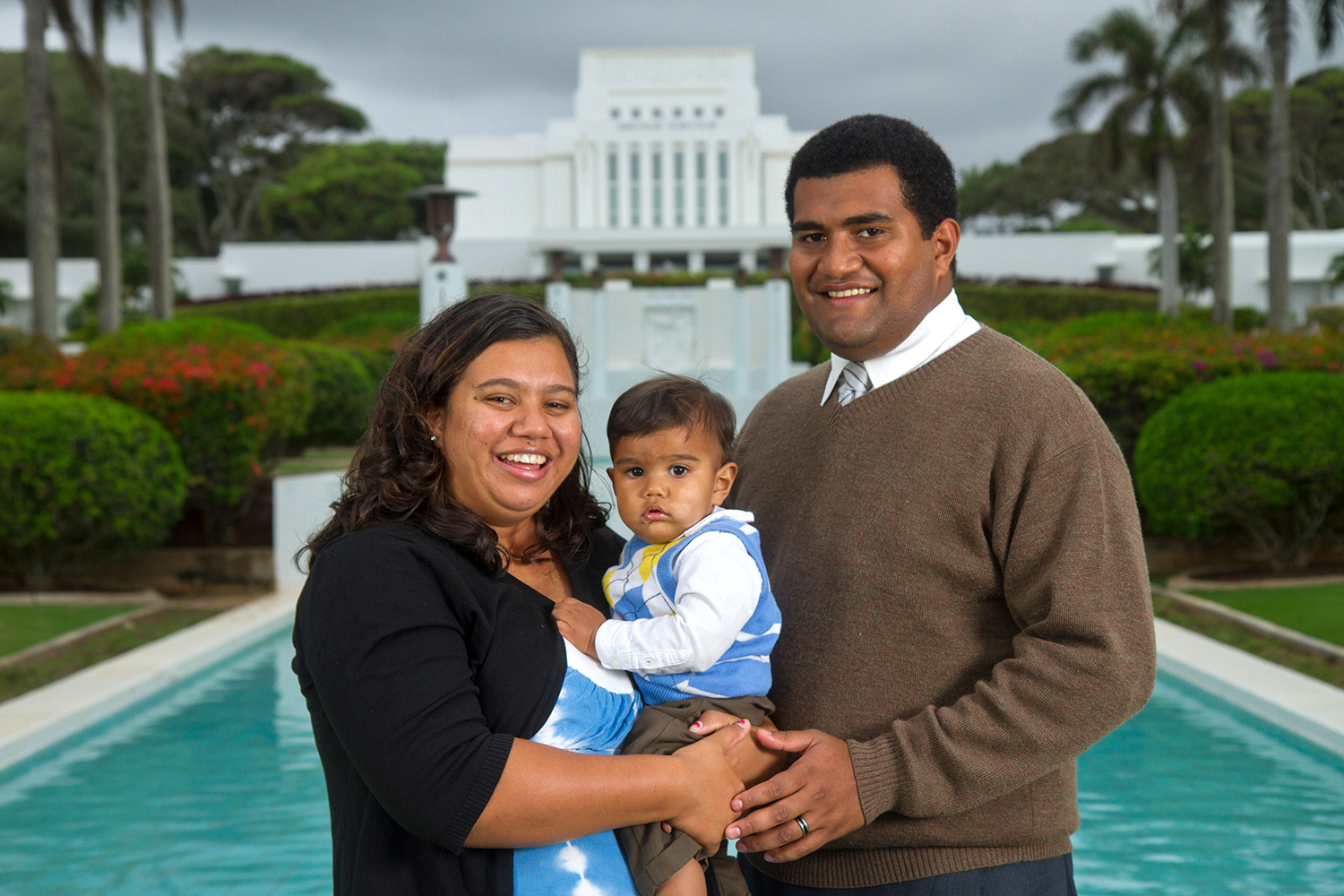 Laie Temple Family Portraits