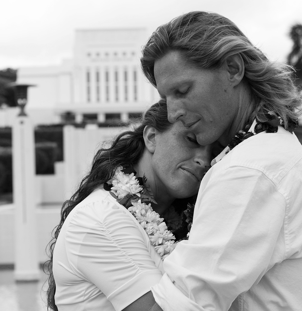 Mormon Wedding at the Laie Temple