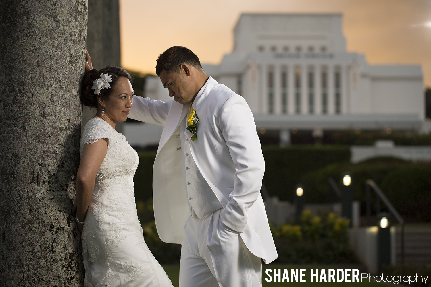 Best Laie Temple Wedding Photography