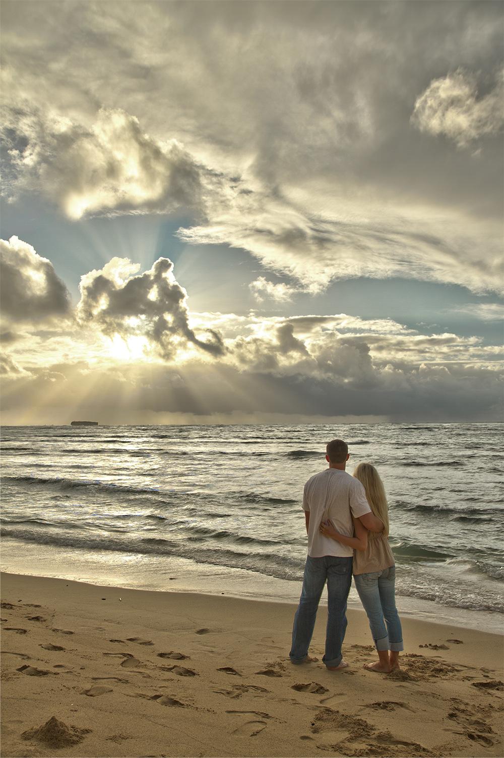 Hawaiian Sunrise in HDR