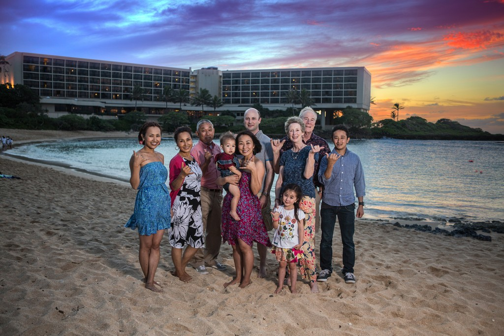 Family portraits at sunset with shane harder photography
