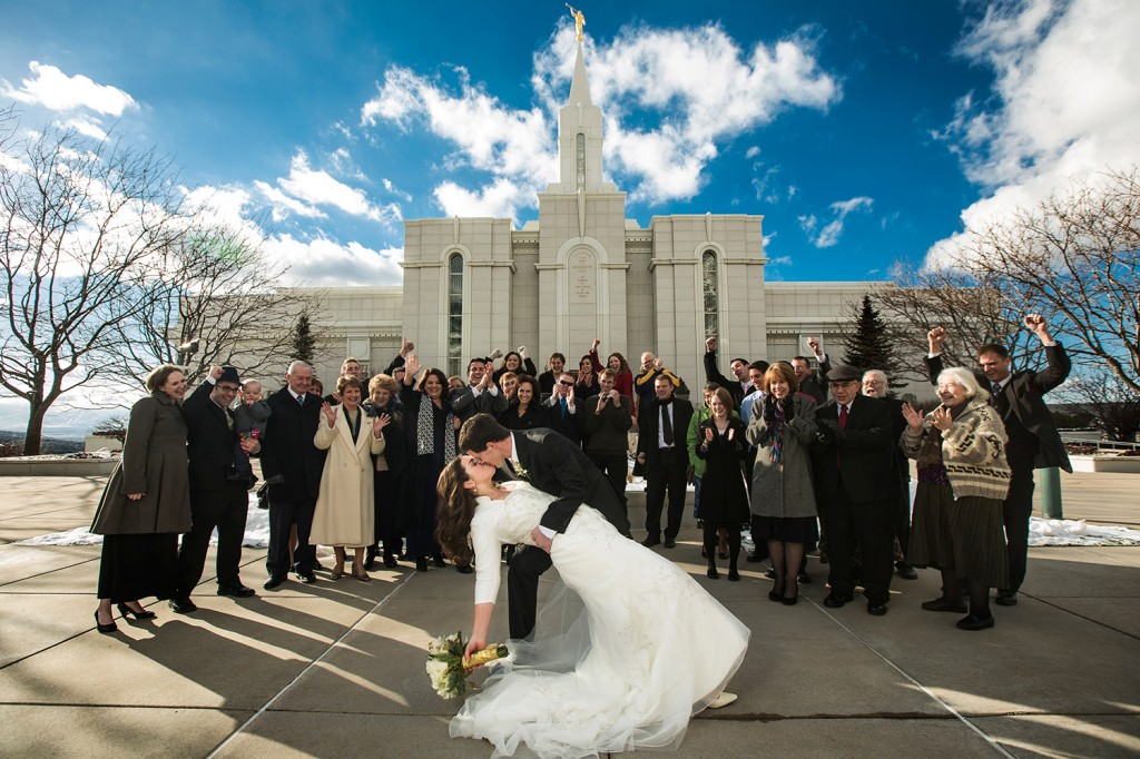 Bountiful temple wedding photos with shane harder photography